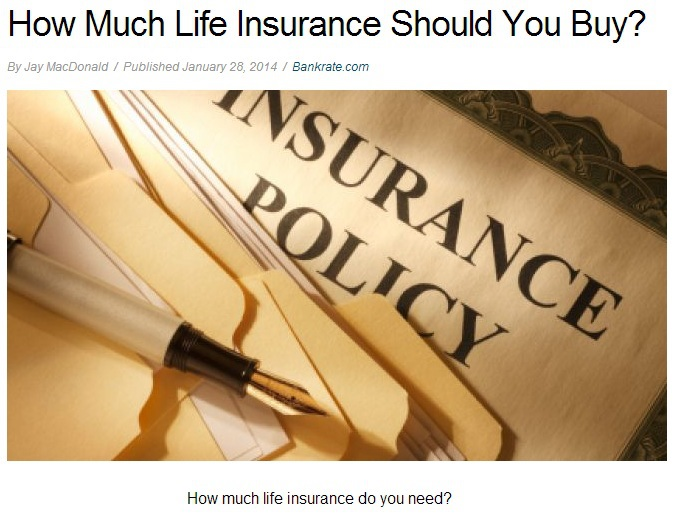 Life Insurance to Buy